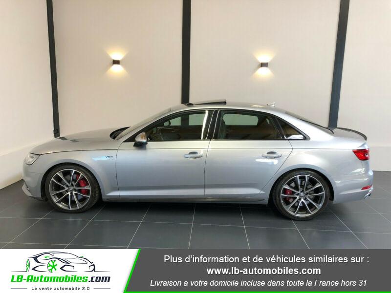 Audi S4 V6 3.0 TFSI 354 Tiptronic 8 Quattro Gris occasion à Beaupuy - photo n°12