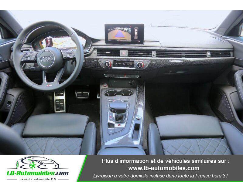 Audi S4 V6 3.0 TFSI 354 Tiptronic 8 Quattro Noir occasion à Beaupuy - photo n°2