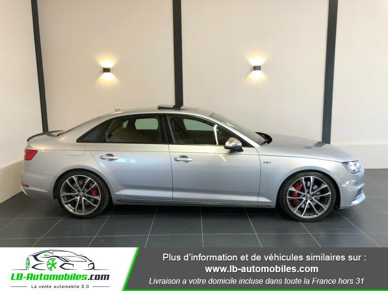 Audi S4 V6 3.0 TFSI 354 Tiptronic 8 Quattro Gris occasion à Beaupuy - photo n°10