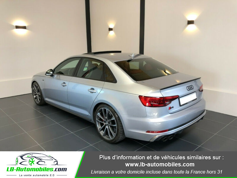 Audi S4 V6 3.0 TFSI 354 Tiptronic 8 Quattro Gris occasion à Beaupuy - photo n°3