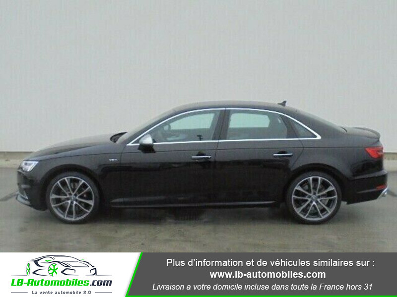 Audi S4 V6 3.0 TFSI 354 Tiptronic 8 Quattro Noir occasion à Beaupuy - photo n°10