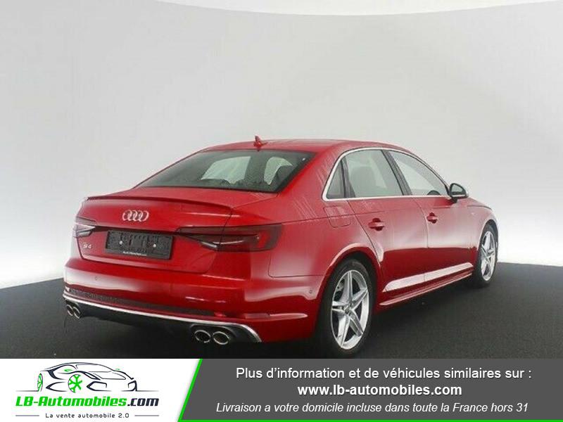 Audi S4 V6 3.0 TFSI 354 Tiptronic 8 Quattro Rouge occasion à Beaupuy - photo n°3
