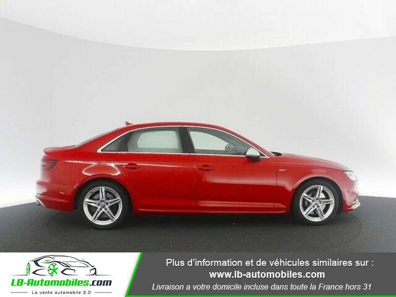 Audi S4 V6 3.0 TFSI 354 Tiptronic 8 Quattro Rouge occasion à Beaupuy - photo n°13
