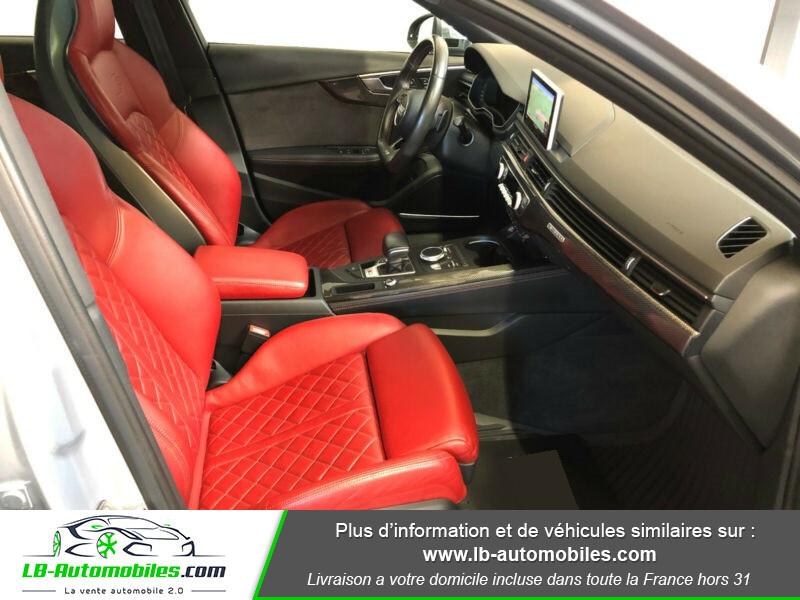 Audi S4 V6 3.0 TFSI 354 Tiptronic 8 Quattro Gris occasion à Beaupuy - photo n°6
