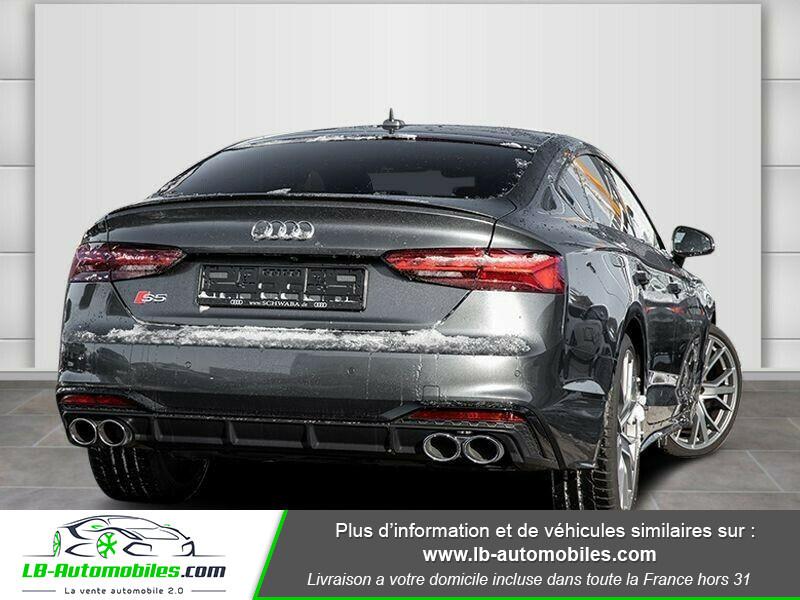 Audi S5 Sportback TDI Tiptronic 8 Quattro Gris occasion à Beaupuy - photo n°3