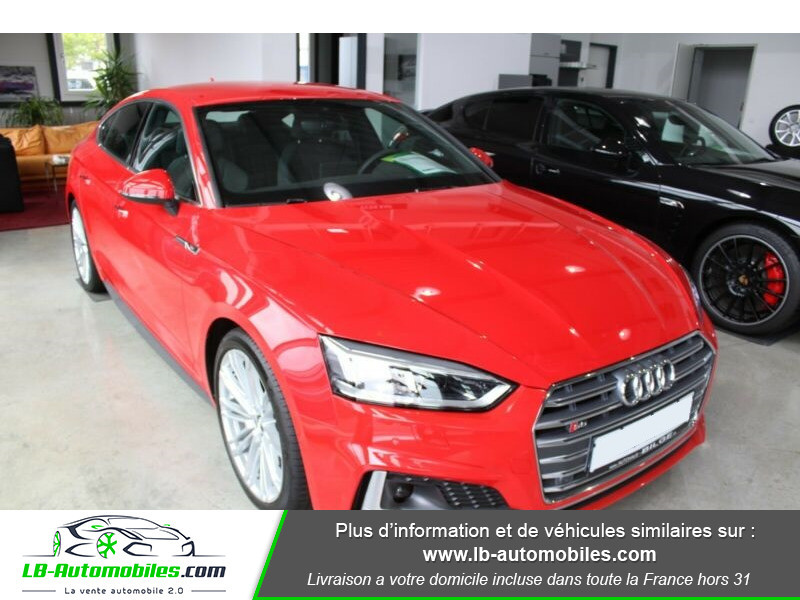 Audi S5 Sportback V6 3.0 TFSI 354 / Tiptronic 8 Quattro Rouge occasion à Beaupuy - photo n°11