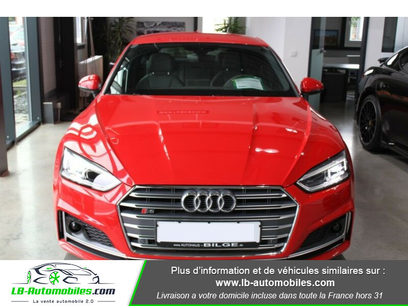 Audi S5 Sportback V6 3.0 TFSI 354 / Tiptronic 8 Quattro Rouge occasion à Beaupuy - photo n°8