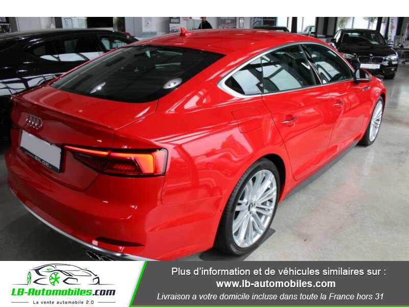 Audi S5 Sportback V6 3.0 TFSI 354 / Tiptronic 8 Quattro Rouge occasion à Beaupuy - photo n°3