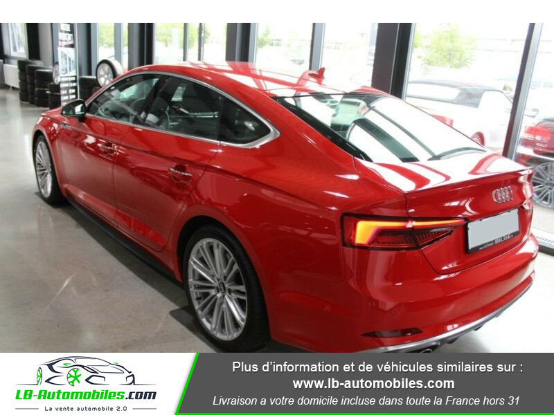 Audi S5 Sportback V6 3.0 TFSI 354 / Tiptronic 8 Quattro Rouge occasion à Beaupuy - photo n°9