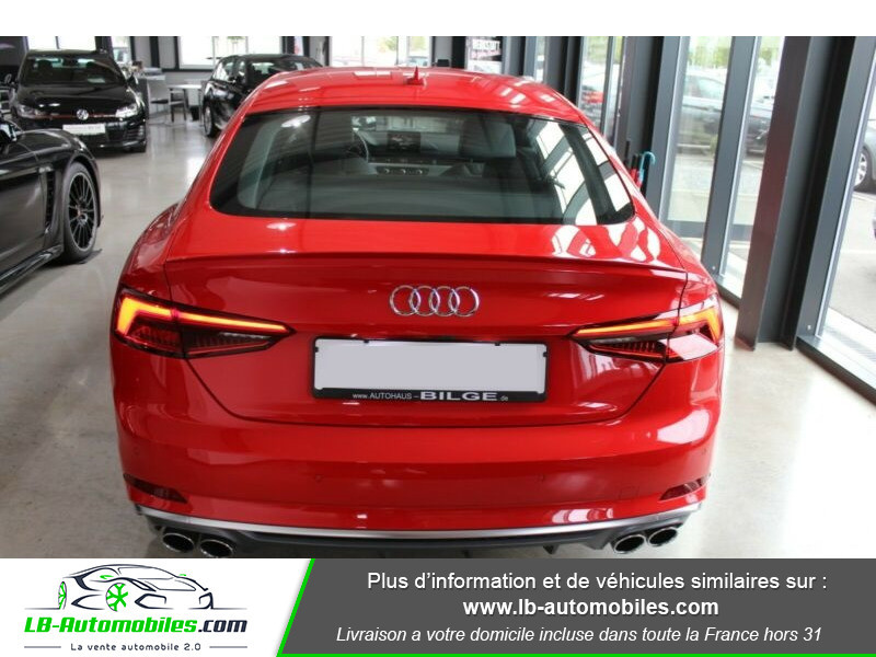 Audi S5 Sportback V6 3.0 TFSI 354 / Tiptronic 8 Quattro Rouge occasion à Beaupuy - photo n°10