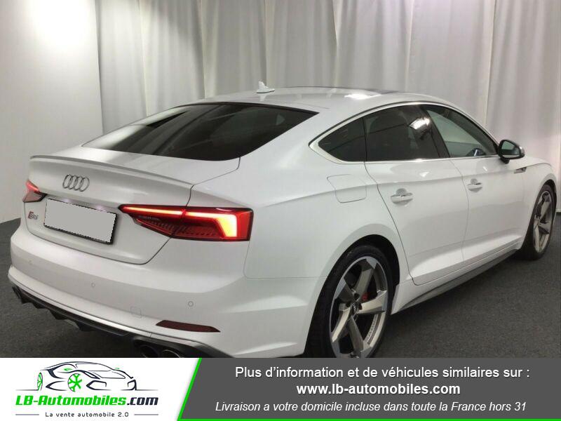 Audi S5 Sportback V6 3.0 TFSI 354 / Tiptronic 8 Quattro Blanc occasion à Beaupuy - photo n°3