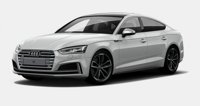 Audi S5 Sportback V6 354Ch 2018 Blanc occasion à Pornic