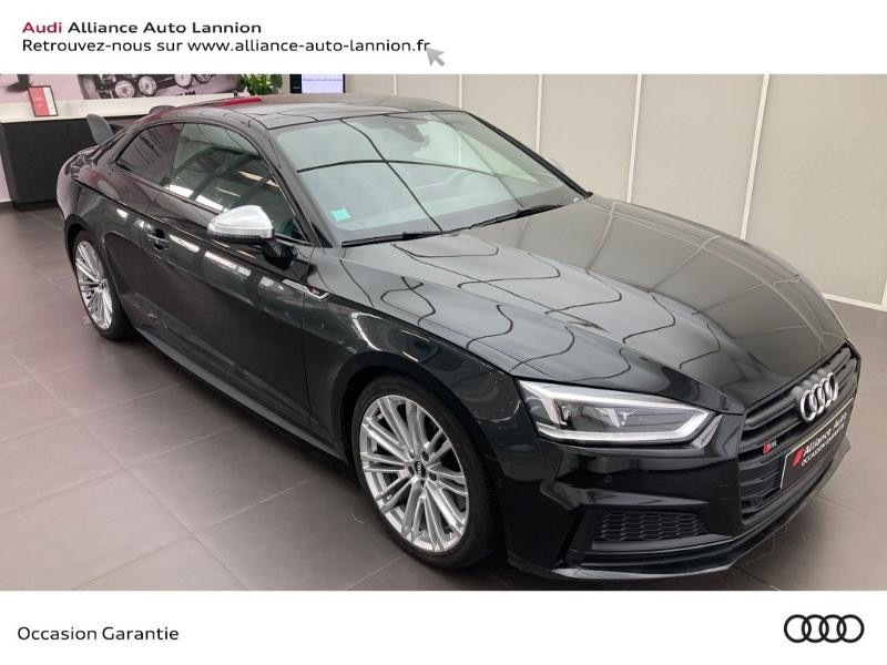 Audi S5 3.0 V6 TFSI 354ch quattro tiptronic 8 Noir occasion à Lannion - photo n°3