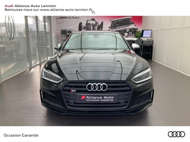 Audi S5 3.0 V6 TFSI 354ch quattro tiptronic 8 Noir occasion à Lannion - photo n°2