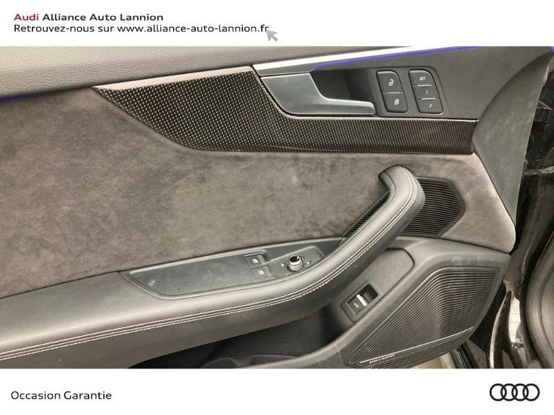 Audi S5 3.0 V6 TFSI 354ch quattro tiptronic 8 Noir occasion à Lannion - photo n°9