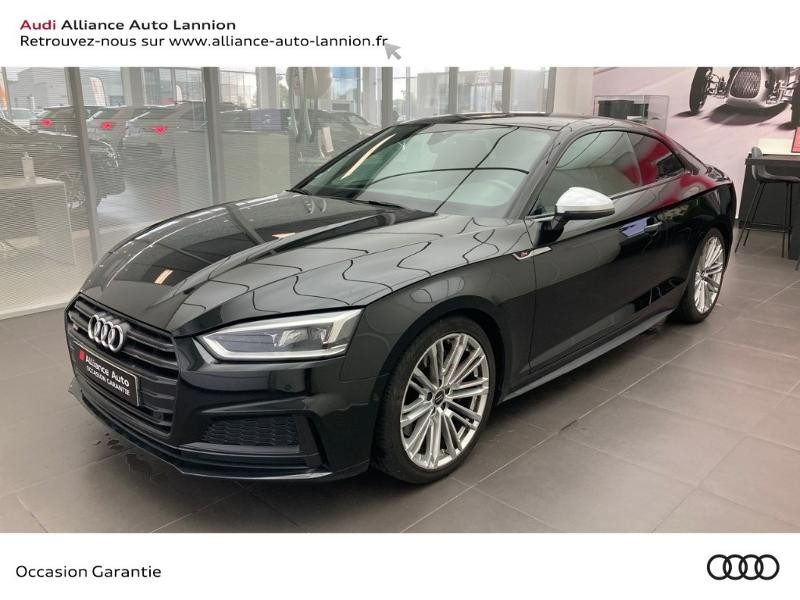 Audi S5 3.0 V6 TFSI 354ch quattro tiptronic 8 Noir occasion à Lannion
