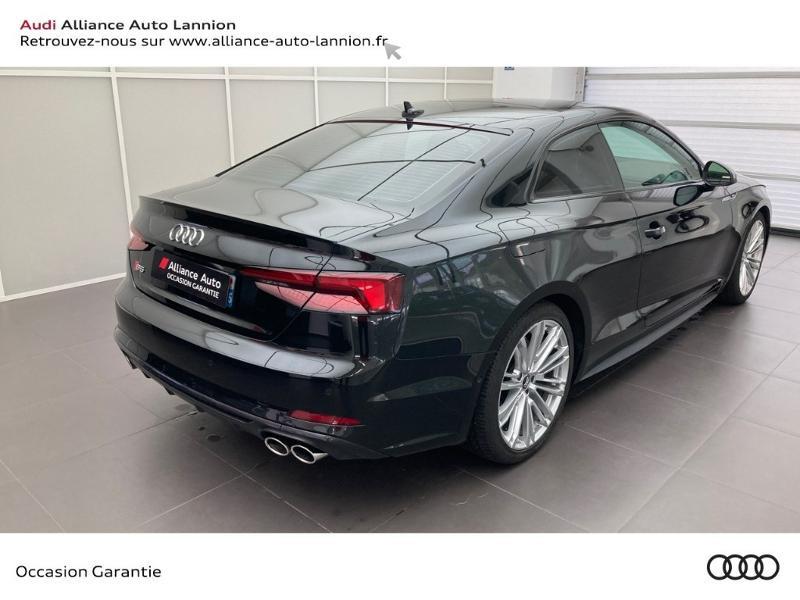 Audi S5 3.0 V6 TFSI 354ch quattro tiptronic 8 Noir occasion à Lannion - photo n°4