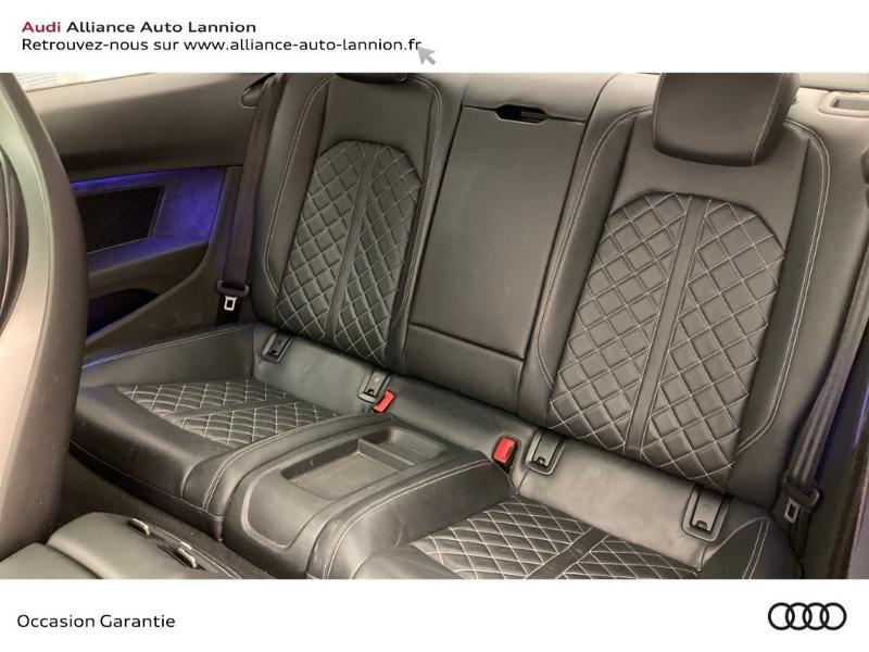 Audi S5 3.0 V6 TFSI 354ch quattro tiptronic 8 Noir occasion à Lannion - photo n°8