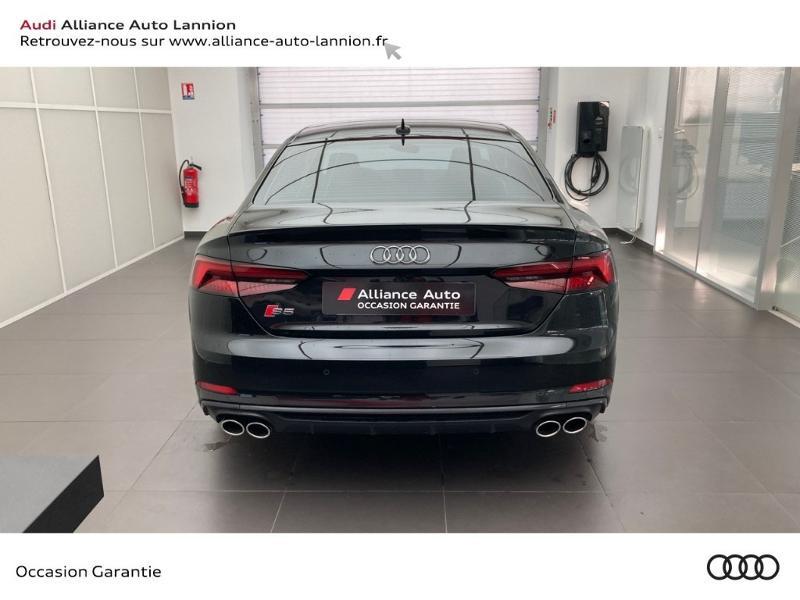 Audi S5 3.0 V6 TFSI 354ch quattro tiptronic 8 Noir occasion à Lannion - photo n°5