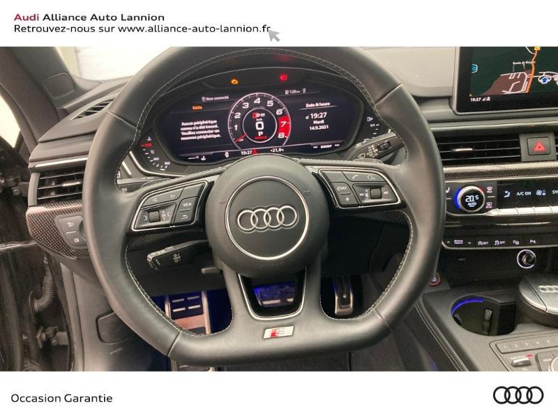 Audi S5 3.0 V6 TFSI 354ch quattro tiptronic 8 Noir occasion à Lannion - photo n°10