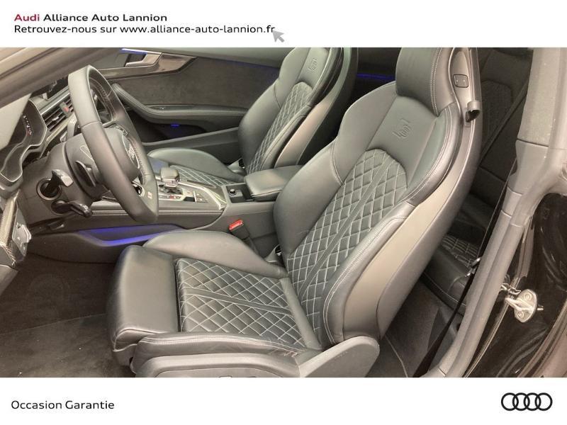 Audi S5 3.0 V6 TFSI 354ch quattro tiptronic 8 Noir occasion à Lannion - photo n°7