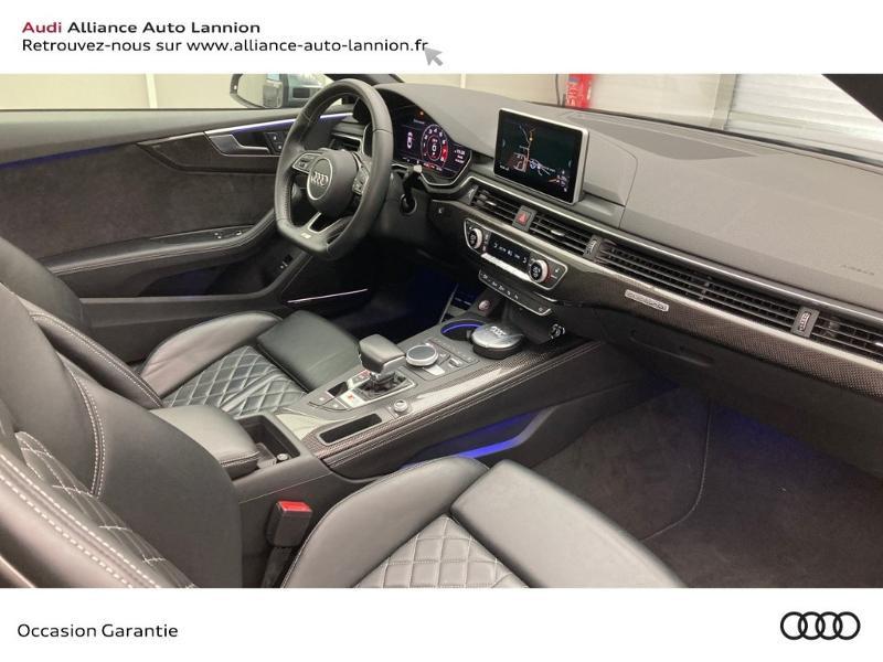 Audi S5 3.0 V6 TFSI 354ch quattro tiptronic 8 Noir occasion à Lannion - photo n°13
