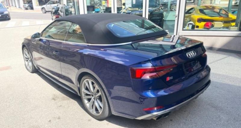 Audi S5 Cab 3L TFSI Quatrro 354 Bleu occasion à MONACO - photo n°6