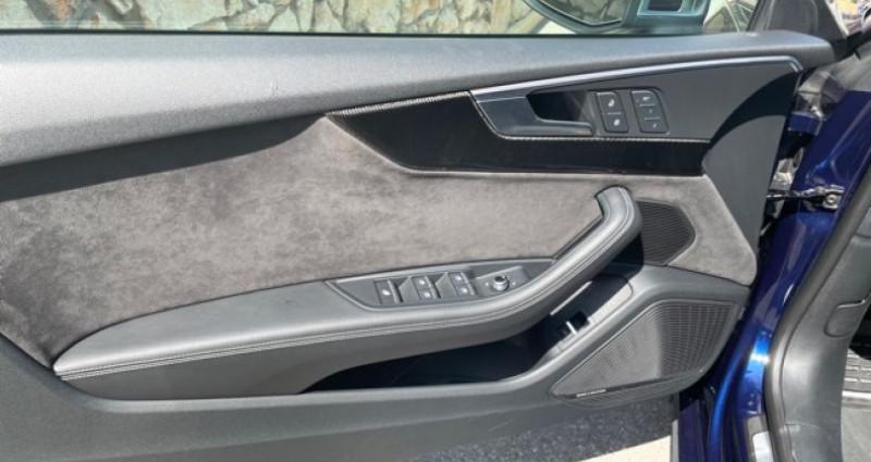 Audi S5 Cab 3L TFSI Quatrro 354 Bleu occasion à MONACO - photo n°7