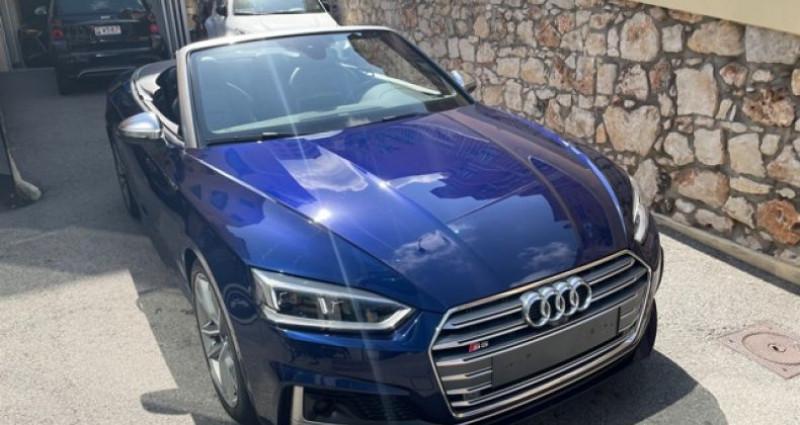 Audi S5 Cab 3L TFSI Quatrro 354 Bleu occasion à MONACO