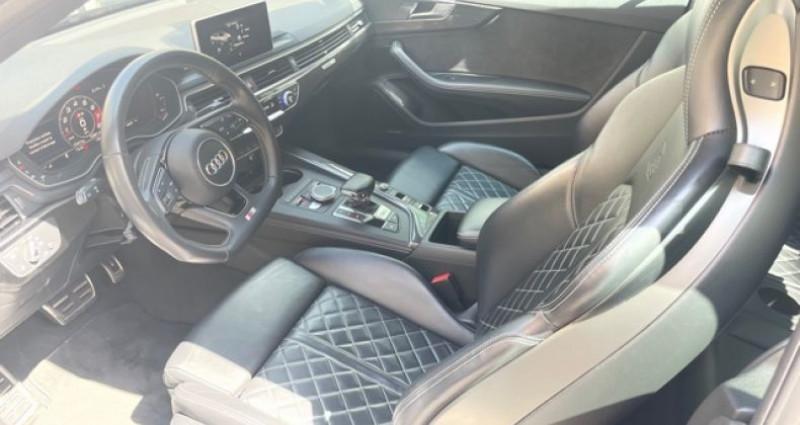 Audi S5 Cab 3L TFSI Quatrro 354 Bleu occasion à MONACO - photo n°3
