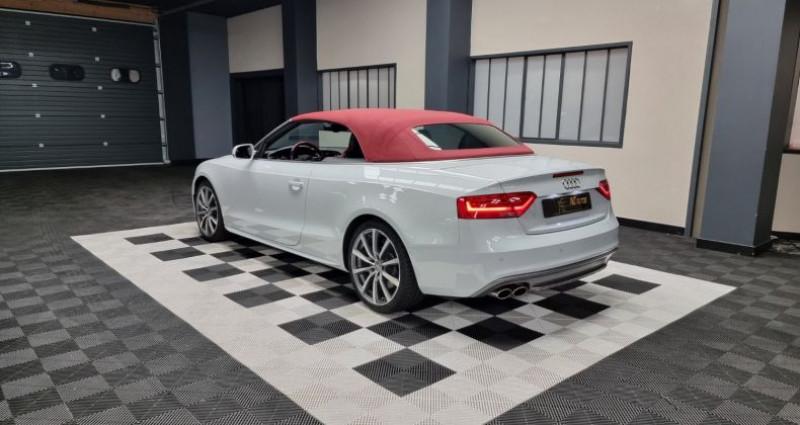 Audi S5 Cabriolet 3.0 TFSI 333 QUATTRO  occasion à MONTBRISON - photo n°3