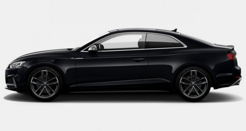 Audi S5 Coupé V6 354Ch 2018 Noir occasion à Pornic - photo n°2