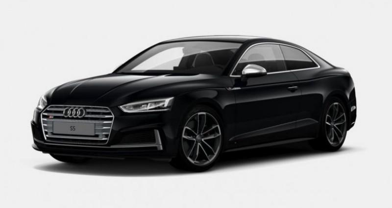 Audi S5 Coupé V6 354Ch 2018 Noir occasion à Pornic
