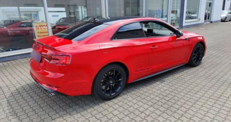 Audi S5 II 3.0 V6 TFSI 354ch quattro tiptronic 8 Rouge occasion à Boulogne-Billancourt - photo n°3