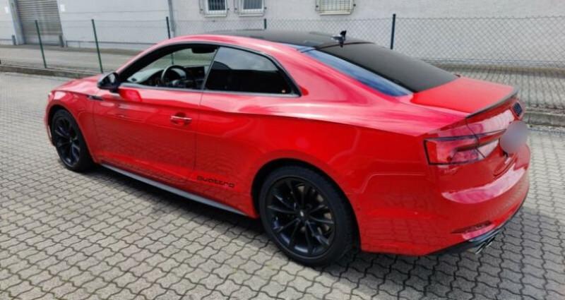 Audi S5 II 3.0 V6 TFSI 354ch quattro tiptronic 8 Rouge occasion à Boulogne-Billancourt - photo n°4
