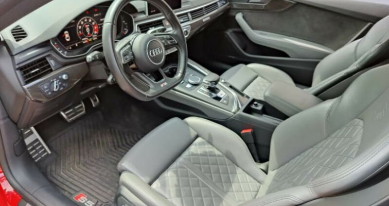 Audi S5 II 3.0 V6 TFSI 354ch quattro tiptronic 8 Rouge occasion à Boulogne-Billancourt - photo n°7