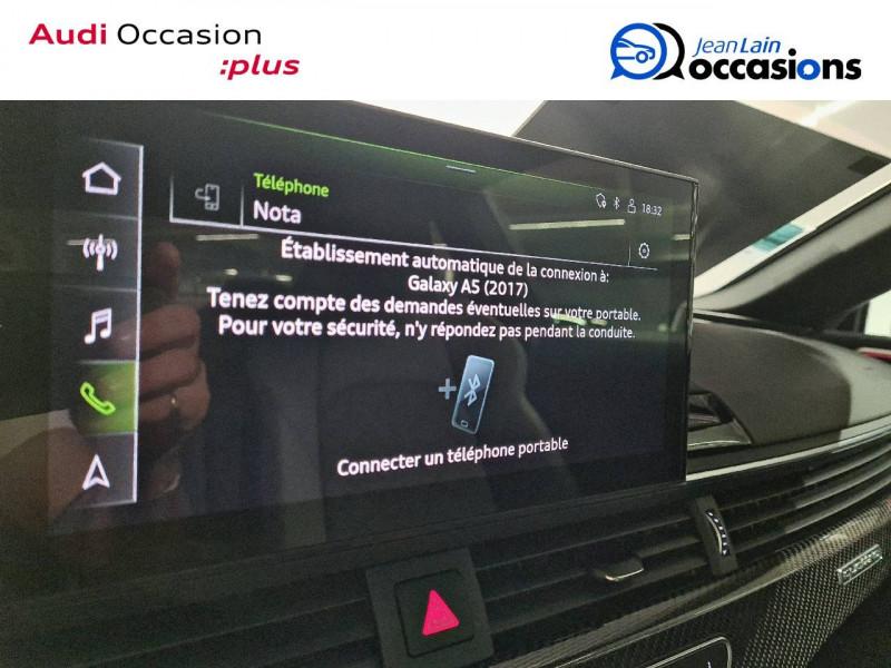 Audi S5 S5 TDI 347 Tiptronic 8 Quattro  2p Rouge occasion à La Motte-Servolex - photo n°16