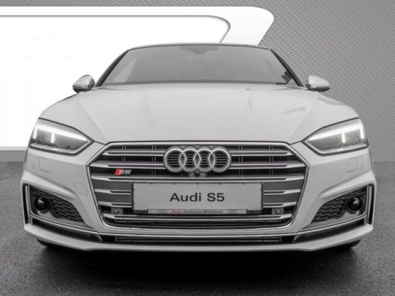 Audi S5 S5 V6 3.0 TFSI 354 Tiptronic 8 Quattro Blanc occasion à Beaupuy - photo n°4