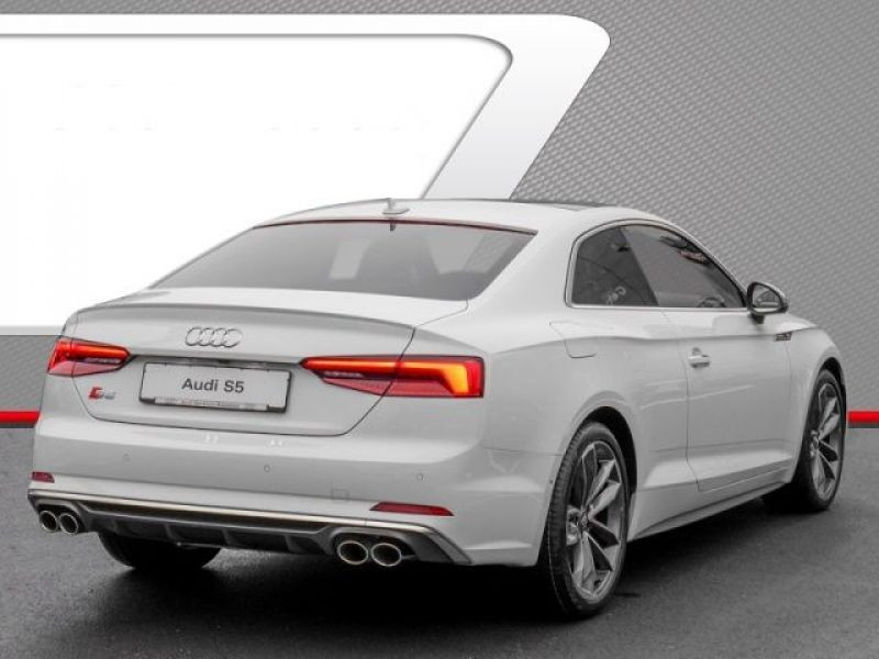 Audi S5 S5 V6 3.0 TFSI 354 Tiptronic 8 Quattro Blanc occasion à Beaupuy - photo n°3