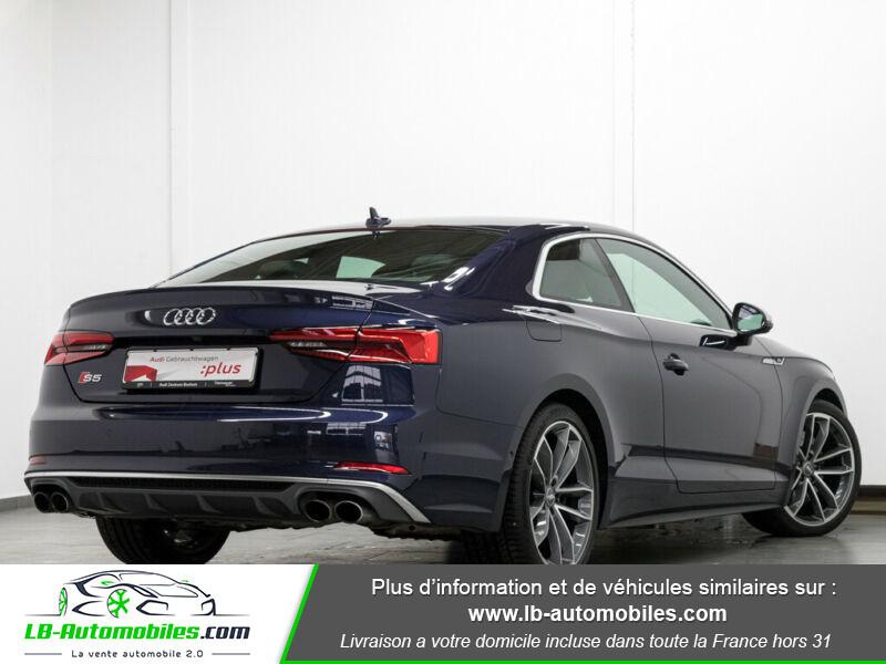 Audi S5 V6 3.0 TFSI 354 / Tiptronic 8 Quattro Bleu occasion à Beaupuy - photo n°2