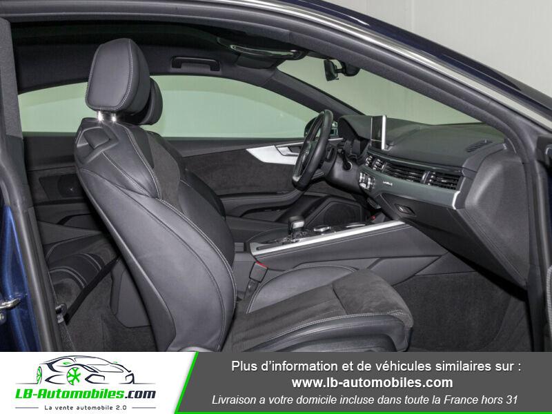 Audi S5 V6 3.0 TFSI 354 / Tiptronic 8 Quattro Bleu occasion à Beaupuy - photo n°3