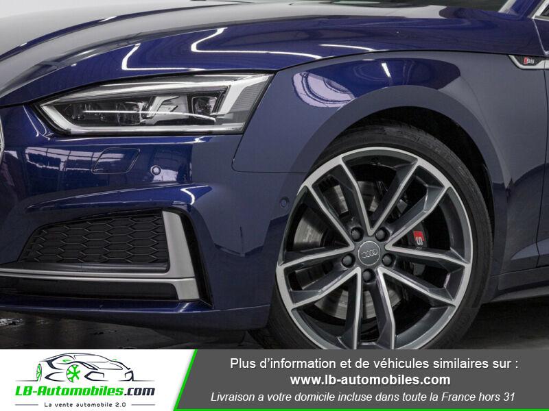 Audi S5 V6 3.0 TFSI 354 / Tiptronic 8 Quattro Bleu occasion à Beaupuy - photo n°6