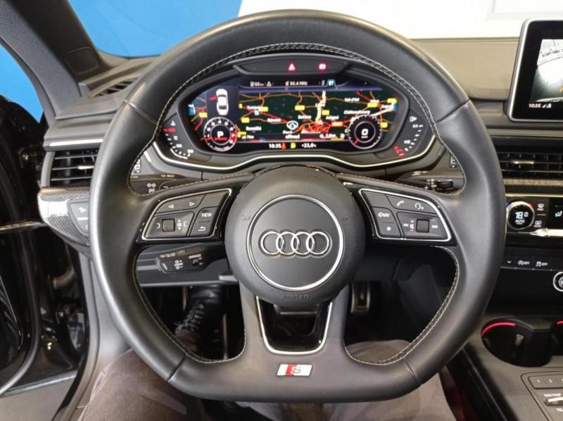 Audi S5 V6 3.0 TFSI 354 Tiptronic 8 Quattro Noir occasion à SAINT-GREGOIRE - photo n°7