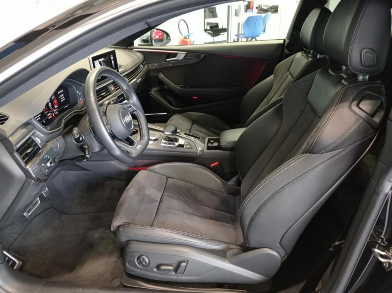 Audi S5 V6 3.0 TFSI 354 Tiptronic 8 Quattro Noir occasion à SAINT-GREGOIRE - photo n°6