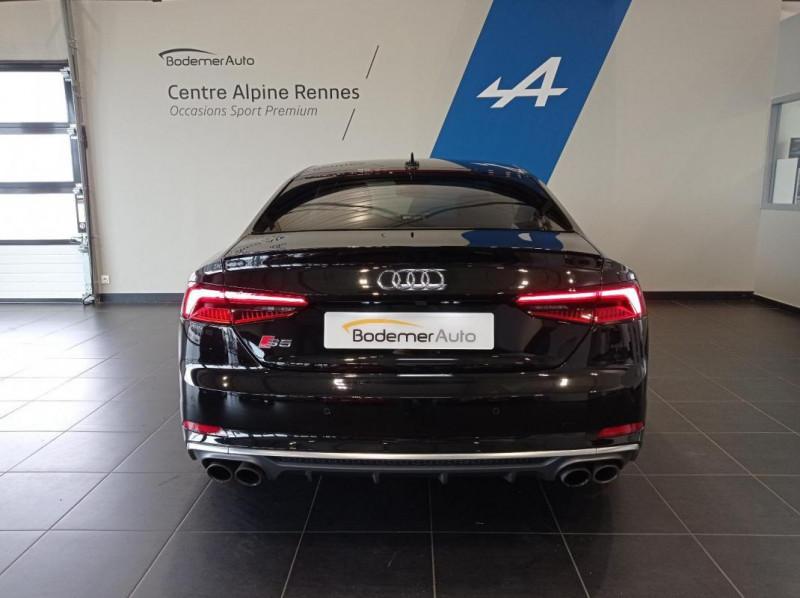 Audi S5 V6 3.0 TFSI 354 Tiptronic 8 Quattro Noir occasion à SAINT-GREGOIRE - photo n°5