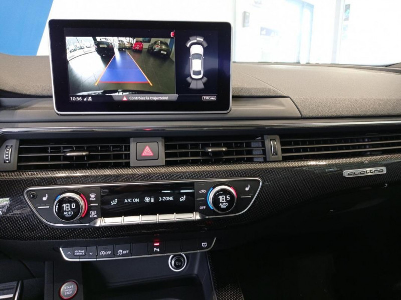 Audi S5 V6 3.0 TFSI 354 Tiptronic 8 Quattro Noir occasion à SAINT-GREGOIRE - photo n°8