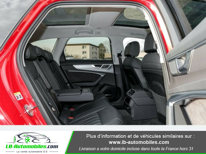 Audi S6 Avant 56 TDI 349 ch Quattro Tiptronic 8 Rouge occasion à Beaupuy - photo n°7