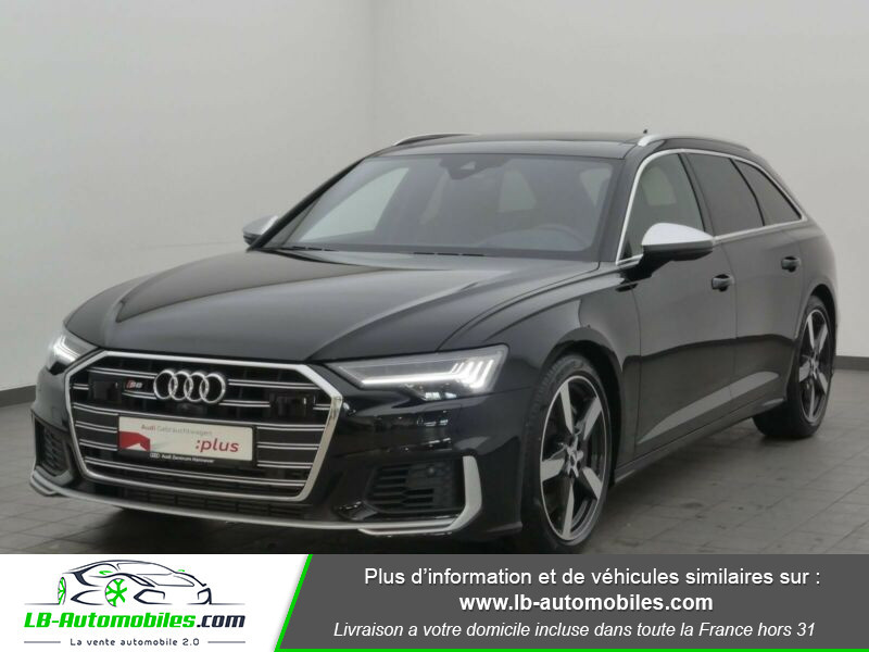 Audi S6 Avant 56 TDI 349 ch Quattro Tiptronic 8 Noir occasion à Beaupuy