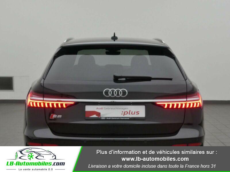 Audi S6 Avant 56 TDI 349 ch Quattro Tiptronic 8 Noir occasion à Beaupuy - photo n°3