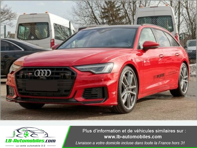 Audi S6 Avant 56 TDI 349 ch Quattro Tiptronic 8 Rouge occasion à Beaupuy
